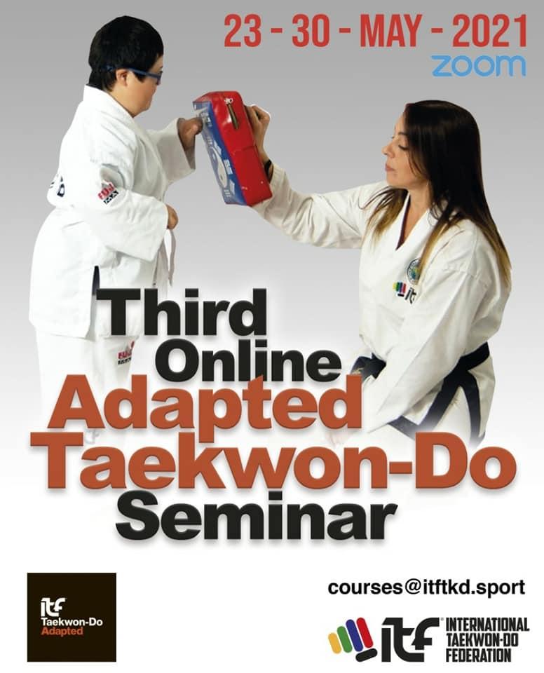 Tercer Seminario Online de Taekwon-Do Adaptado