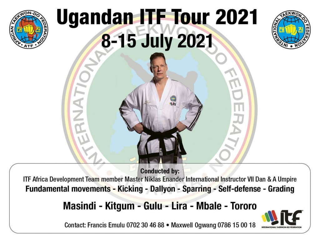 Flyer Ugandan ITF Tour 2021