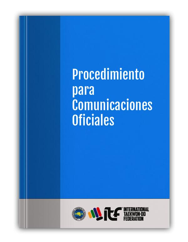 Procedimiento para Comunicaciones Oficiales de la ITF