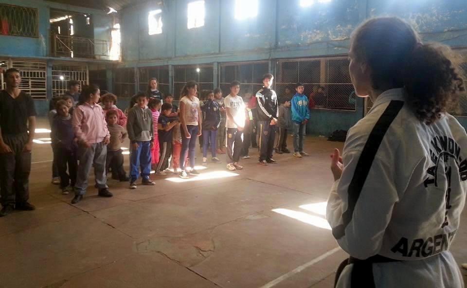 Patricia Garelik TKD Solidario 1