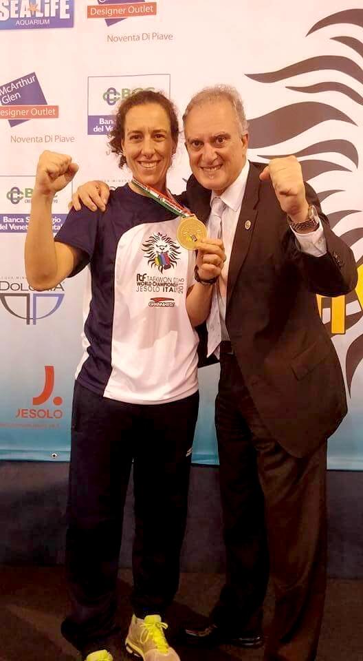 Patricia Garelik con GM Marano