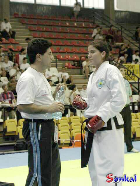 Ana Coronel Ernesto Figueredo coach