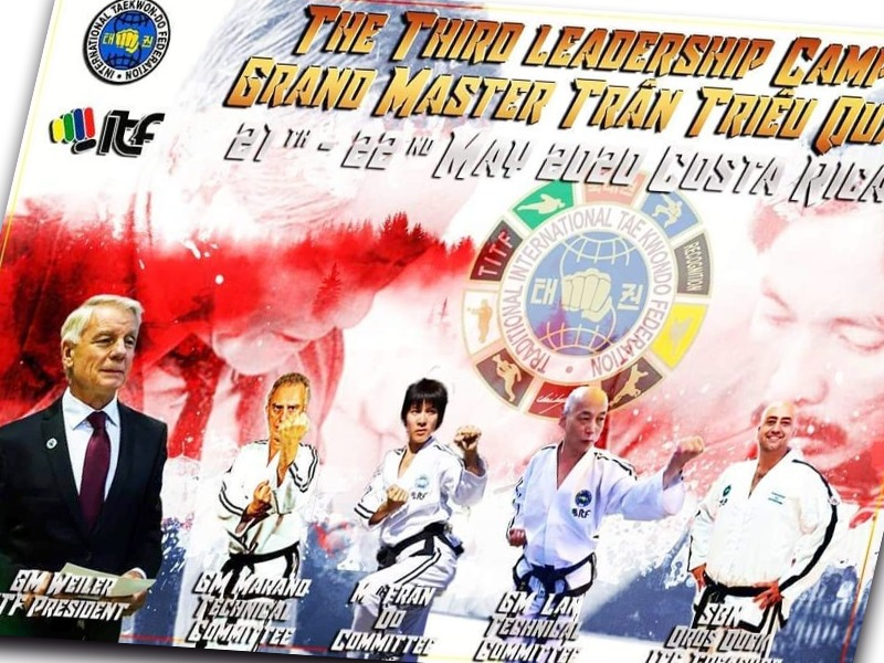 International Taekwon-Do Federation 3rd Leaderships Camp Trân Triêu Quân