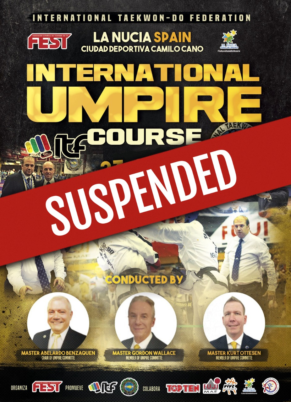 Umpire-course-Spain-suspended