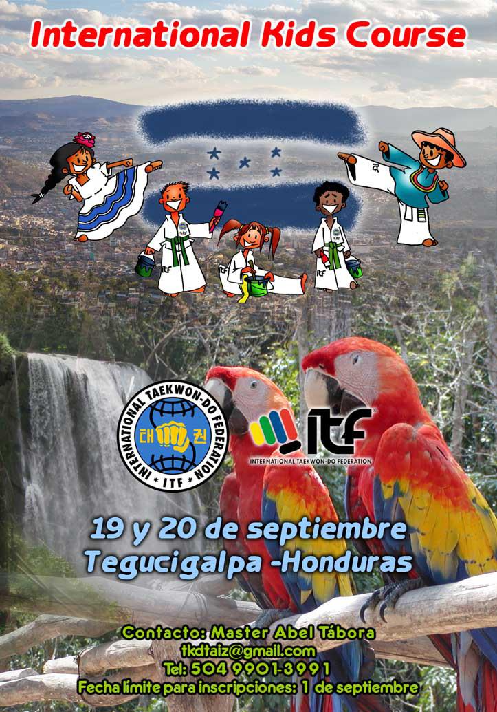 Afiche IKC Oficial Honduras