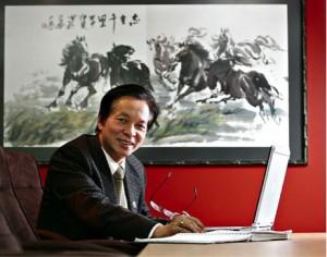 Grand Master Trân Triêu Quân, ITF President 2003 to 2010