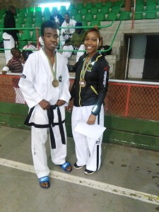 Gold Medalists from Jamaica and Madagascar