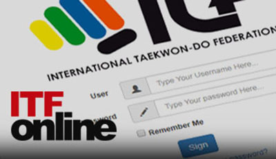 Banner with link to ITF Online