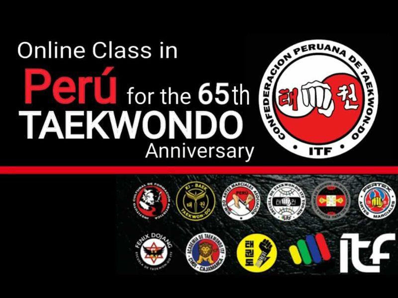 65th aniversary of TKD Peru