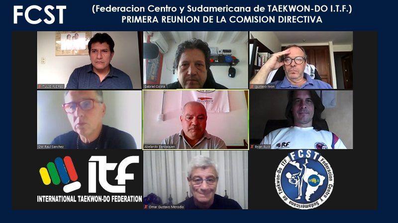 Meeting confederación centro y sudamericana de Taekwon-Do