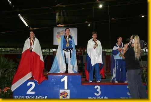 Soledad Serrano Podium Germany 2005