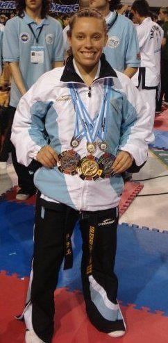 Soledad Serrano Silver medal 2009