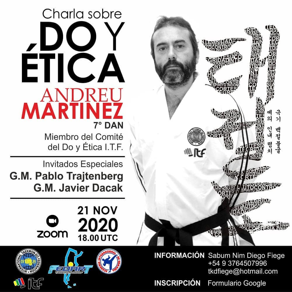 Poster Martinez Do Speech in Argentina VI