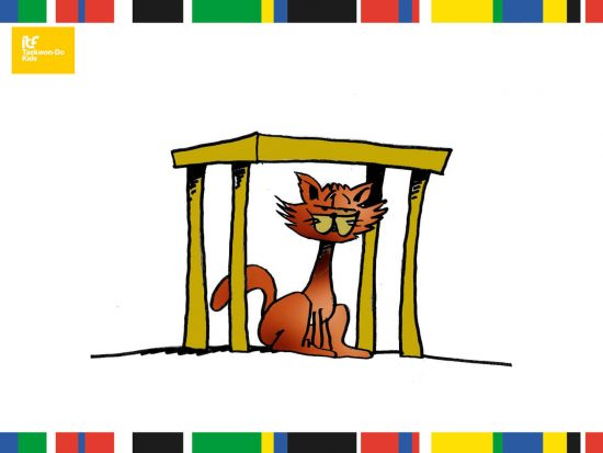 Online-International-Kids-Course-the-cat-is-under-the-table