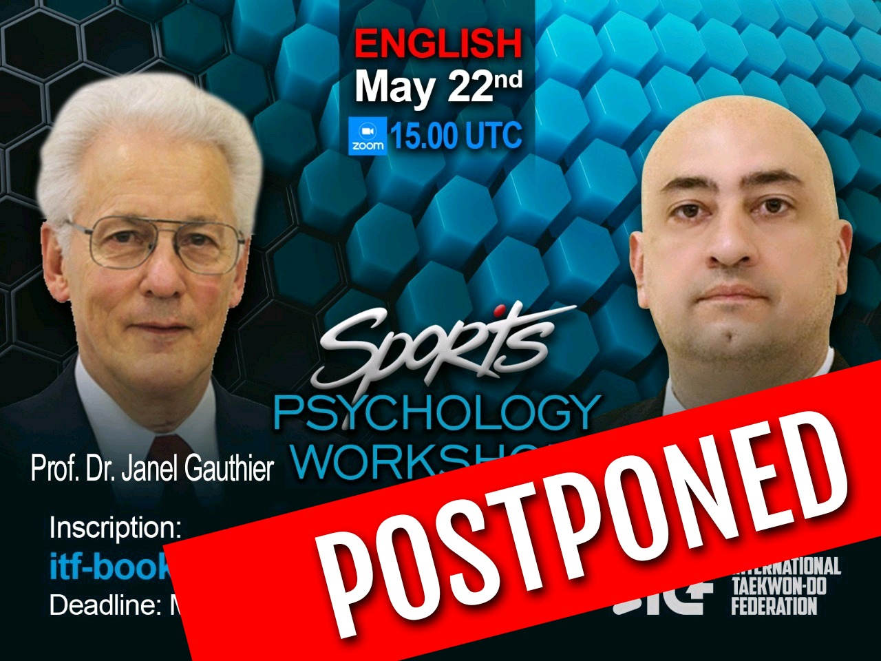postponed PSICOWORKSHOP