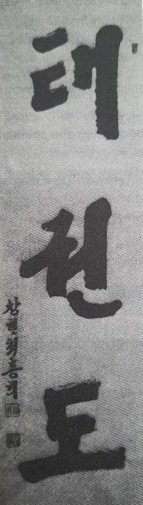 Gral-Choi-Callygraphy-TKD-Korean-characters